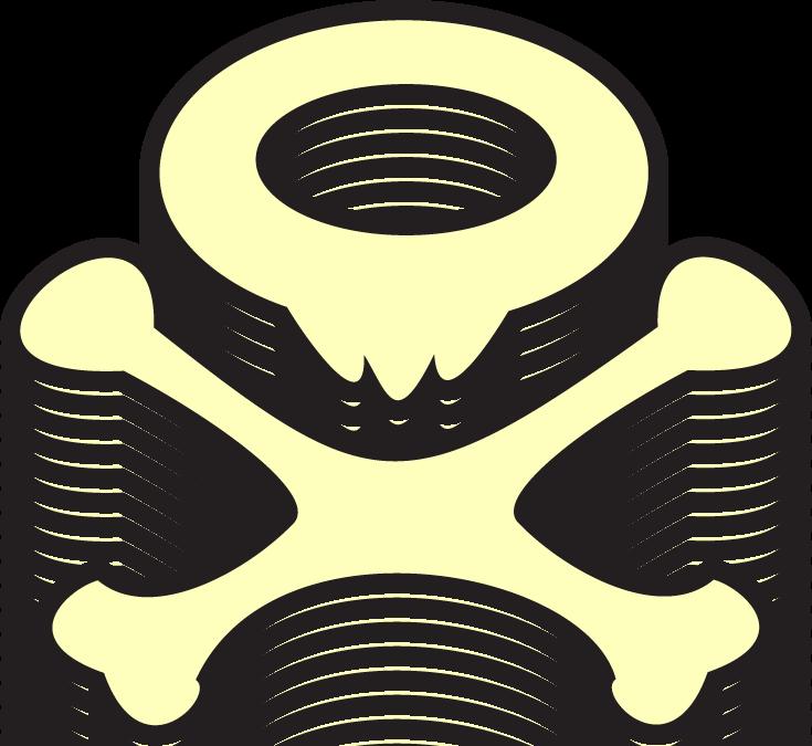 Koffing SkullNBones by KileyDavis