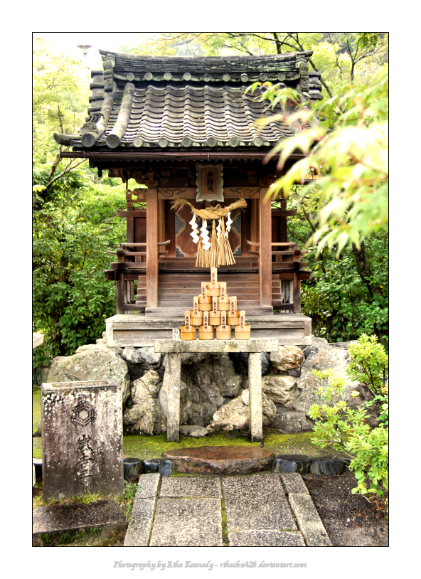 Shinto Kami Shrine - Kyoto by rikachu426 on DeviantArt