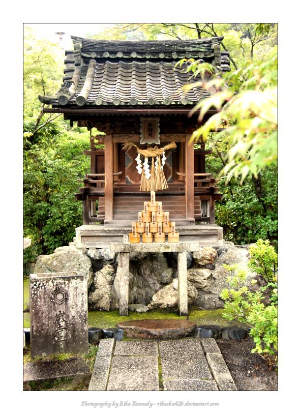 Shinto Kami Shrine - Kyoto by rikachu426 on DeviantArt