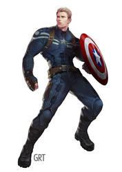 Captain America by garakTOB