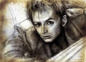 David Tennant sketch by jide911