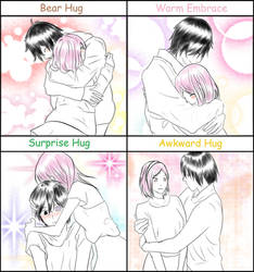 Hug meme [Sasusaku]