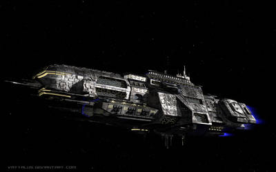 Aurora - Light Cruiser by Vattalus