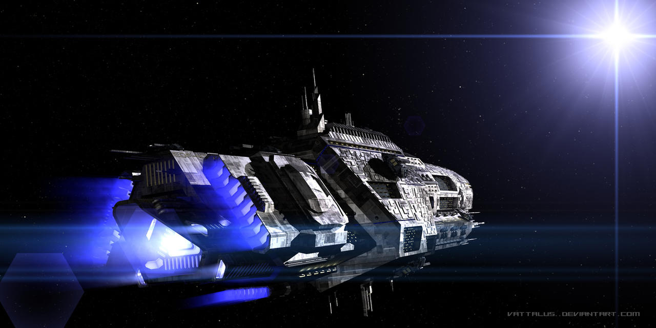 Aurora - Light Cruiser (Wallpaper) by Vattalus