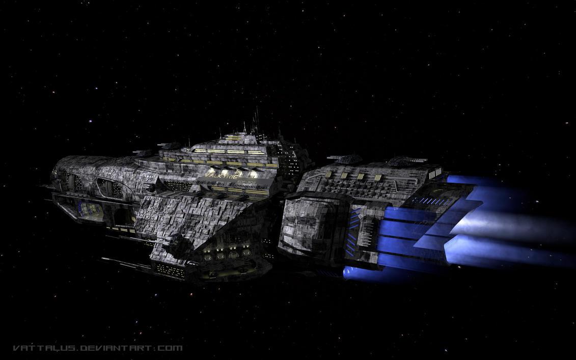 Valkyrie Heavy Cruiser by Vattalus