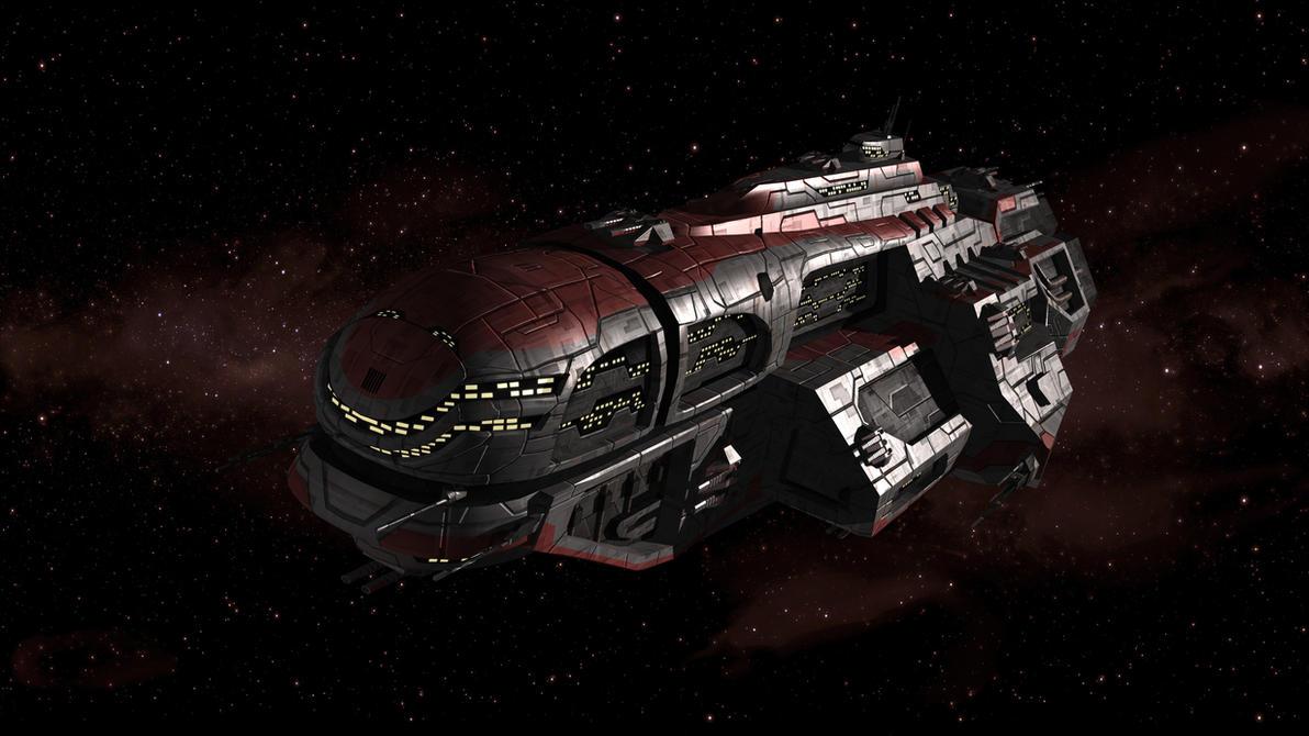 Huaxia Battleship by Vattalus