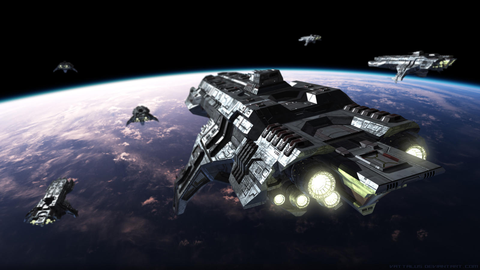 Defence Fleet by Vattalus
