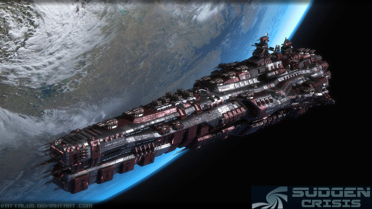 'Lung Foress' Doomstar Class Warship by Vattalus on DeviantArt
