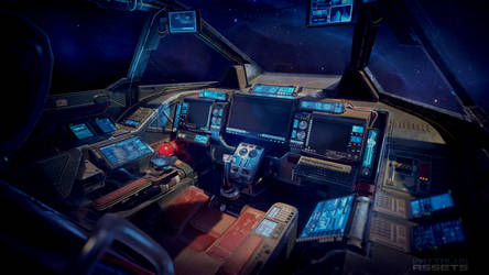Heavy Fighter Cockpit