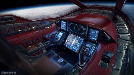 Light Fighter Cockpit