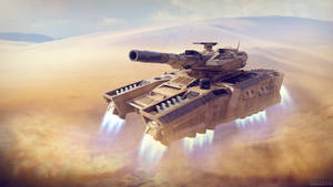 Tempest Hover Tank by Vattalus