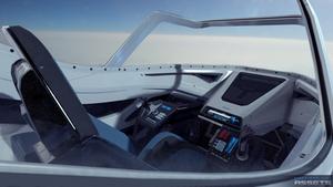 Scifi Futuristick Fighter Cockpit