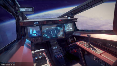Scifi Fighter Cockpit 5