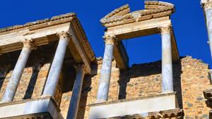 019 - Roman Theater Merida Spain by calasade
