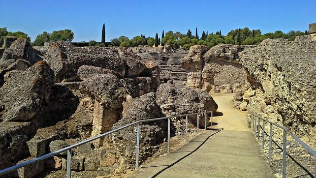 Italica Amphitheater - 01