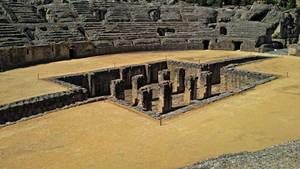 Italica Amphitheater - 02 by calasade