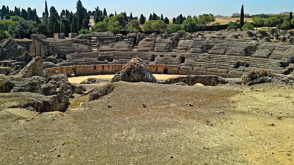 Italica Amphitheater - 05 by calasade