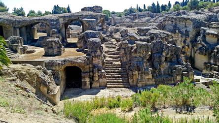 Italica Amphitheater - 06 by calasade