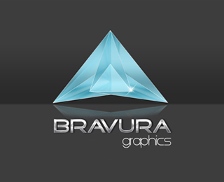 Bravura Graphics Logo by Annkita77