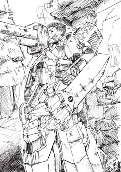 Engineer soldier afterwar surviver