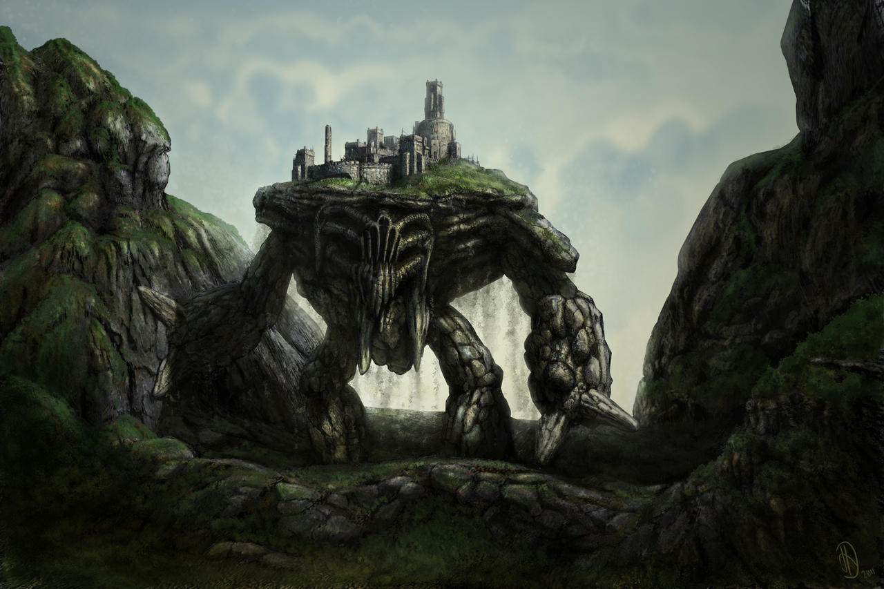 Earth Colossus by danieljoelnewman