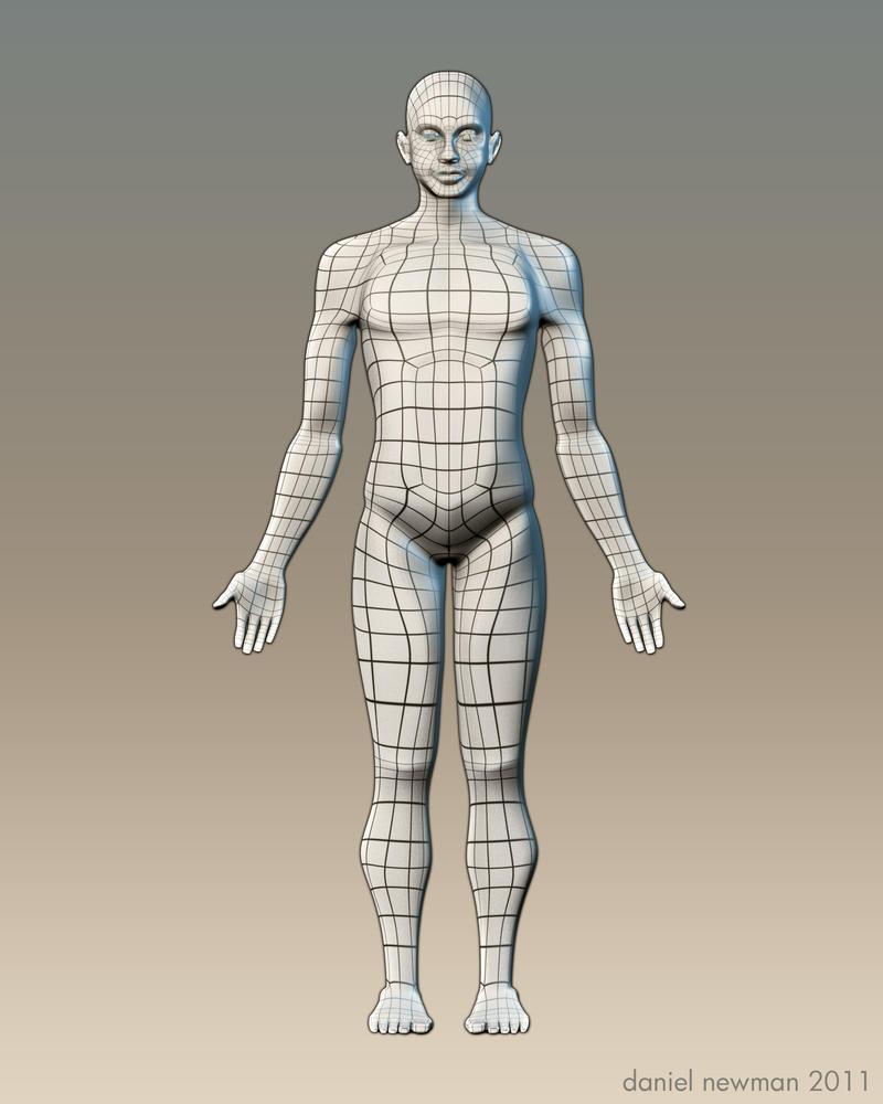 Как сделать макет человека в полный рост