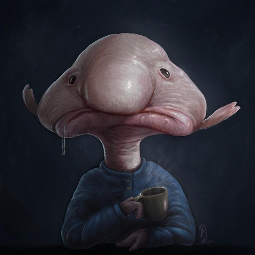 Blobfish by danieljoelnewman on DeviantArt