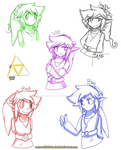 Four Swords Links by Mrs-NeedleM0use