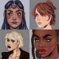 girls by Poevella