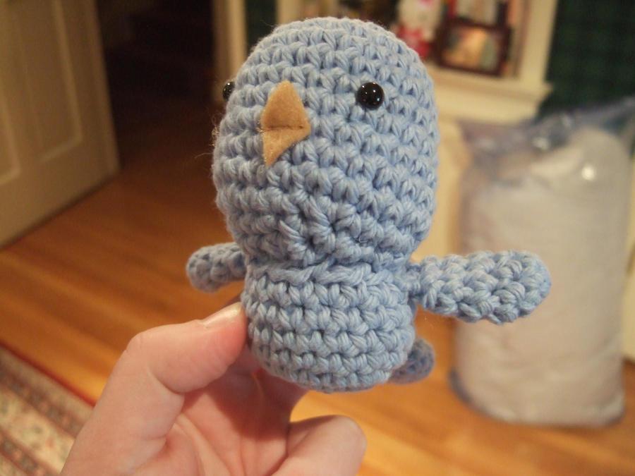 Baby Bird Amigurumi : Amigurumi Baby Bird by HikaruChan811 on deviantART