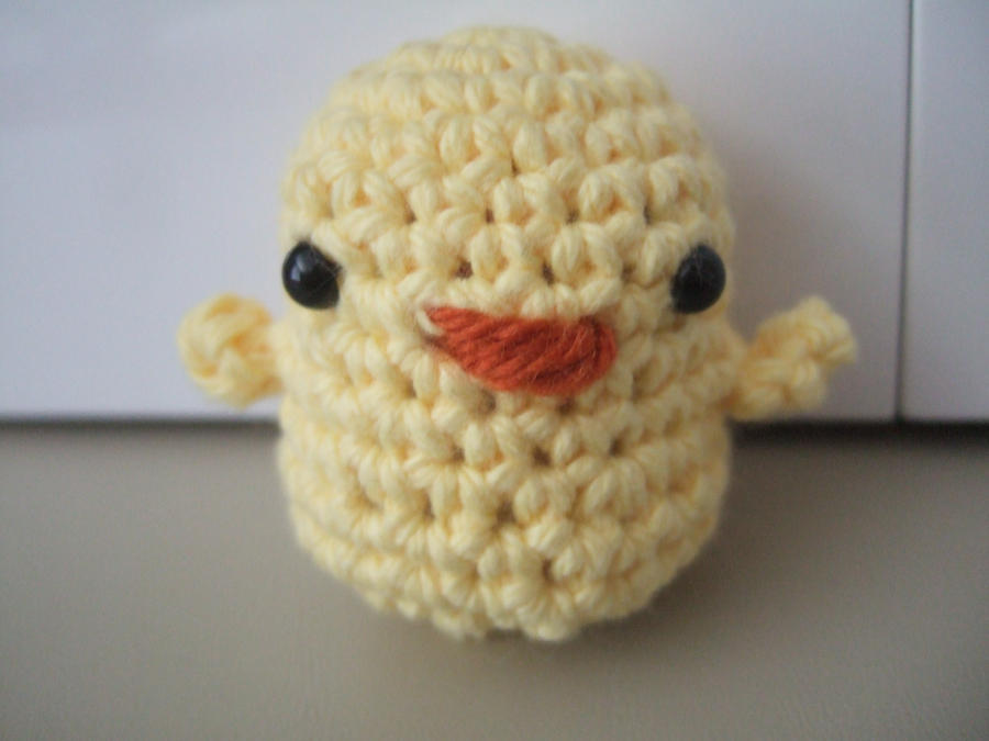 Amigurumi Baby Chicks : Amigurumi Baby Chick by HikaruChan811 on deviantART