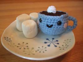 Amigurumi Hot Cocoa by HikaruChan811
