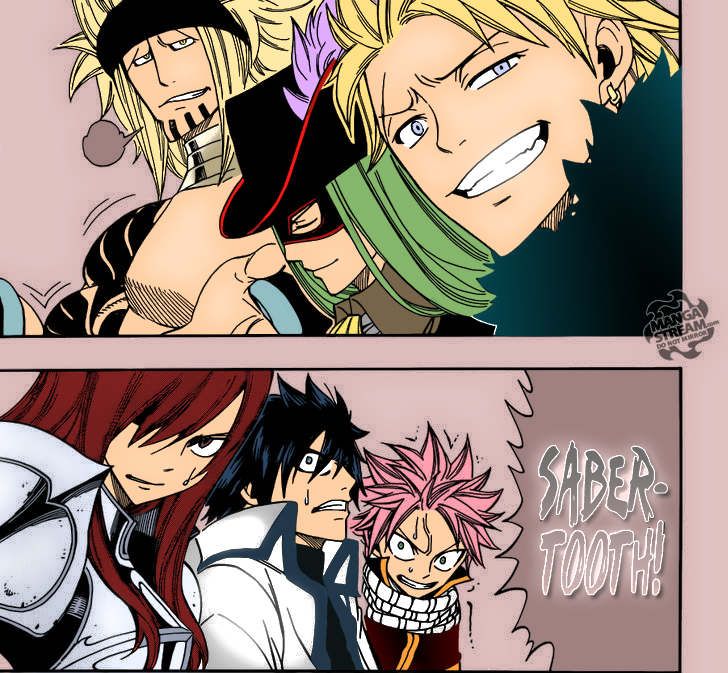 Fairy Tail Sabertooth Guild
