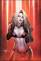 Lady Death colors by Arciah