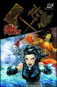The Four Points #2 cover C colors
