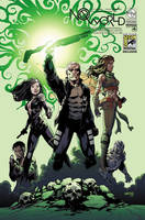 No World #4 SDCC Foil by Arciah