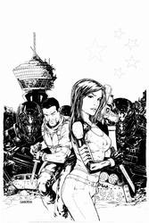 Dissension #2 cover inks