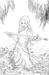 Lady of the Lake pencils