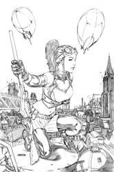 Lady Mechanika by Arciah