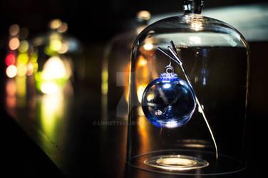 Boules de noel en verre de Meisenthal by Linnette68