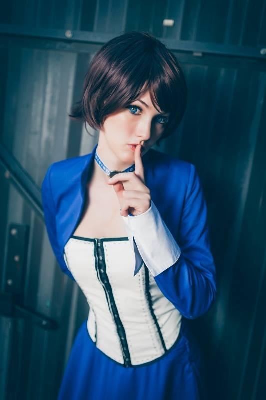 Bioshock Infinite: Elizabeth Cosplay by kazeplay