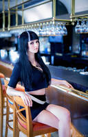 The Black-Haired Woman / Death Parade (3) by kazeplay