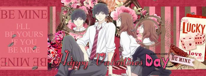 [Scrapbook] Ao Haru Ride Valentines