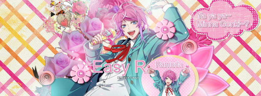 [Scrapbook] Easy R - Ramuda Amemura by BelliaFairy