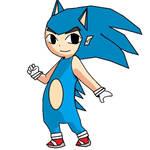 Sonic Tloz Toon Style