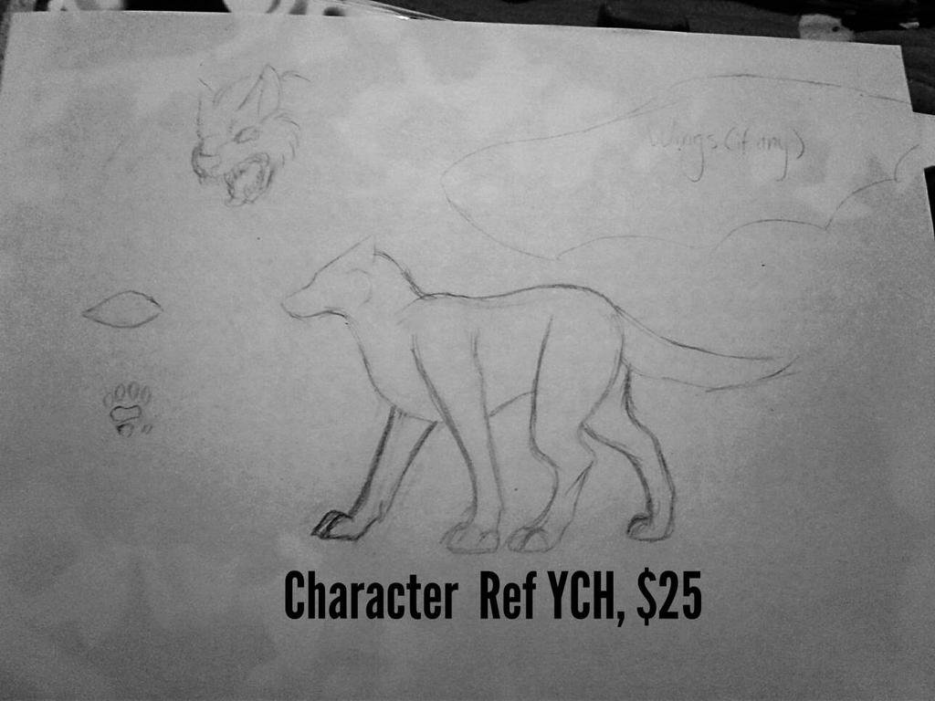 Canine/Feline Ref Sheet YCH by Dodgesmiley
