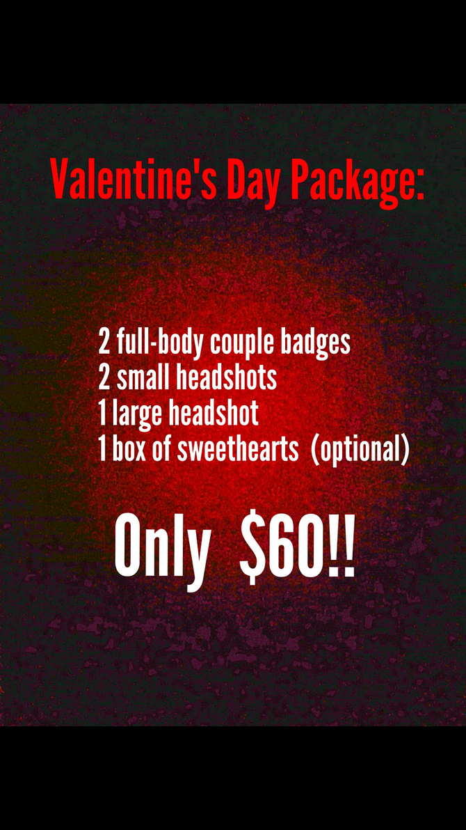 Valentine's Day Package by Dodgesmiley