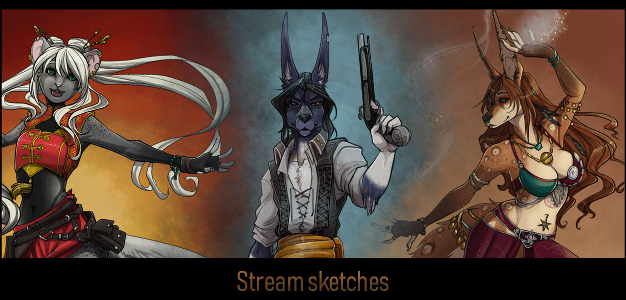 Stream Sketches Online by Aivomata