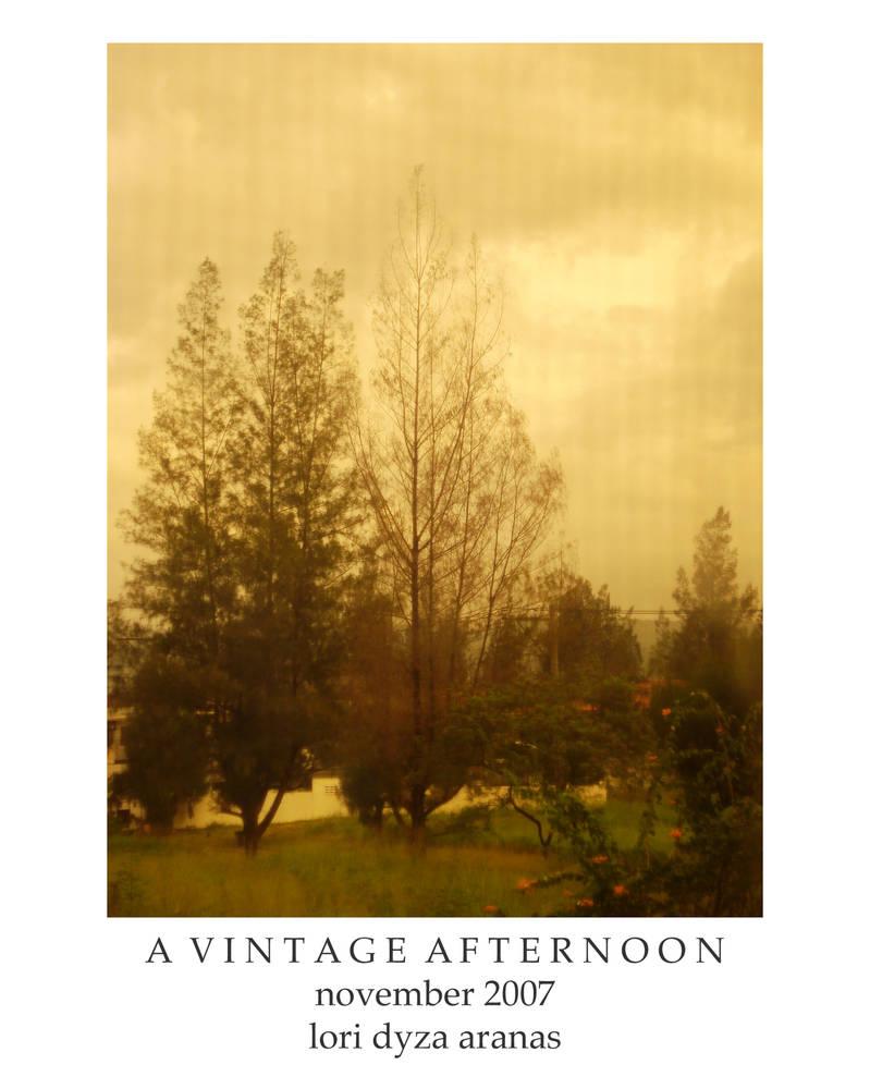 A Vintage Afternoon