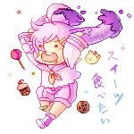 [COMM] paeonacherry cake by fuupotato